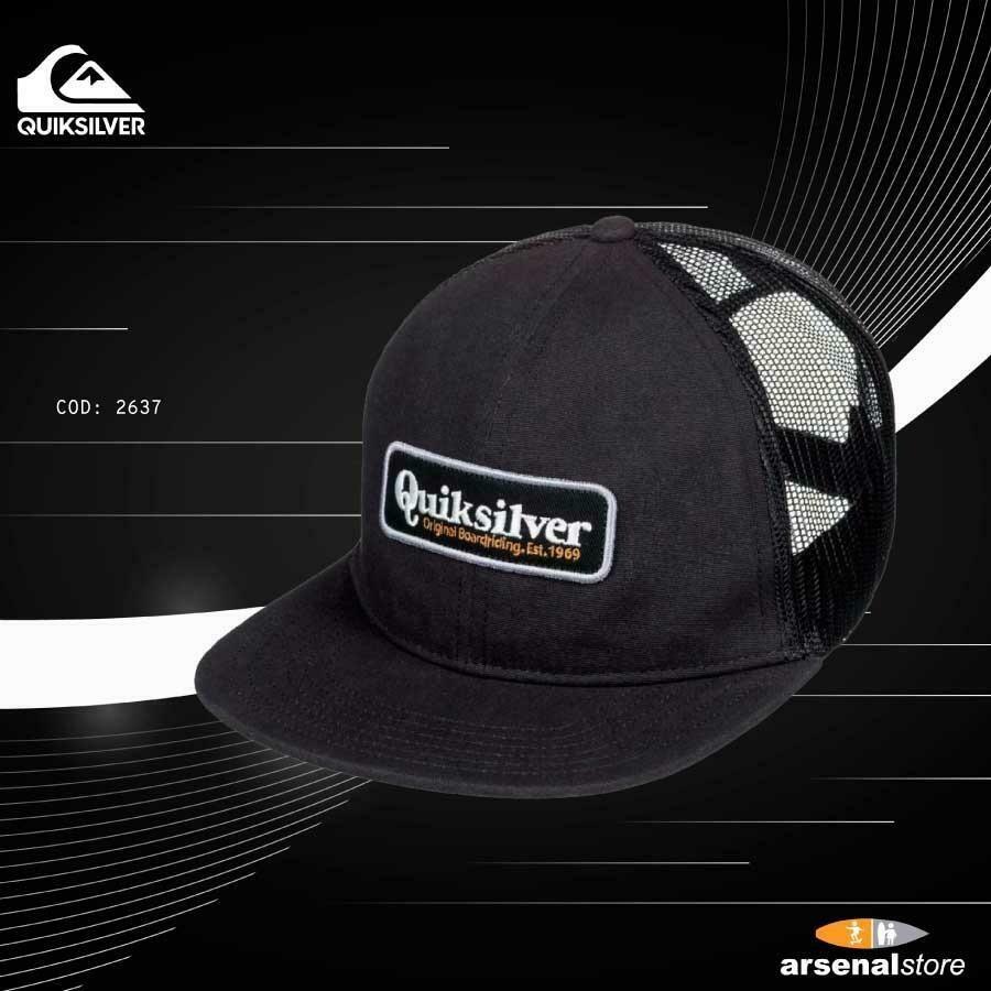 Men's Papa Duece Curve Trucker Hat Quiksilver