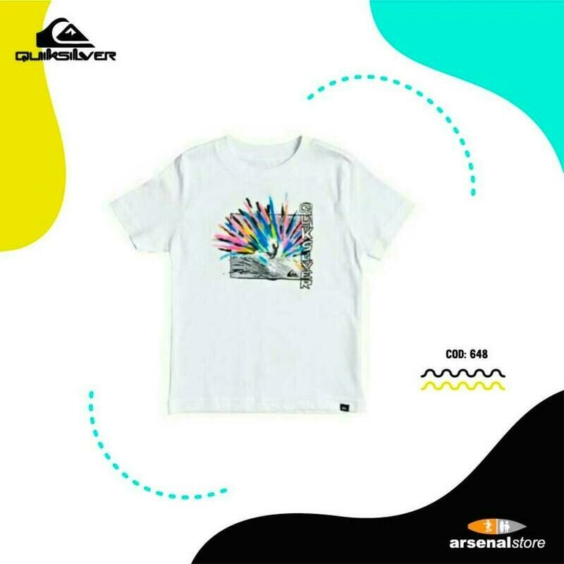 Camiseta Quiksilver 2-7