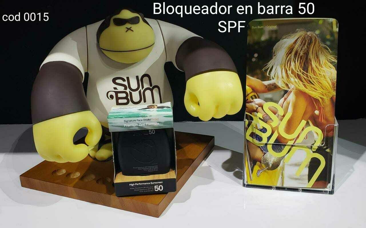 Bloqueador Sun Bum en barra 50spf