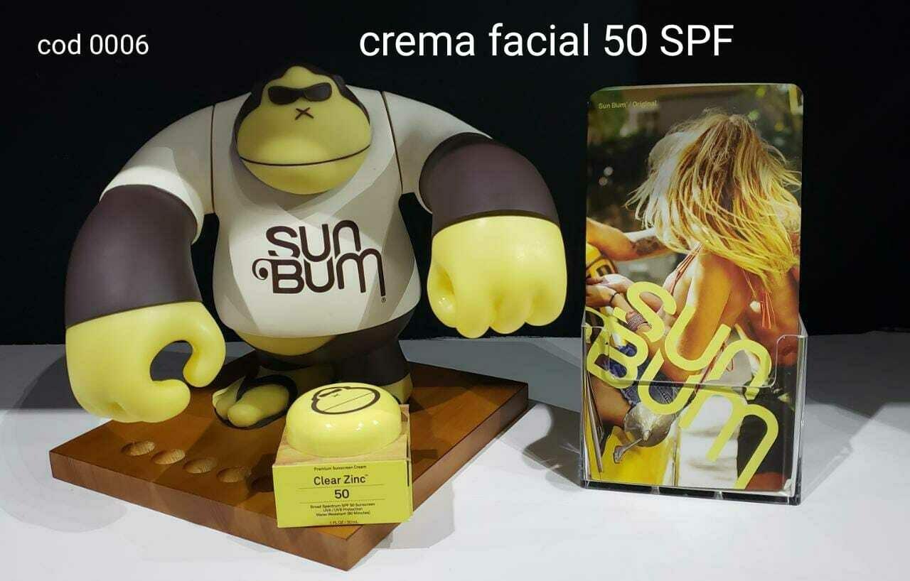 Crema Facial Sun Bum 50 SPF