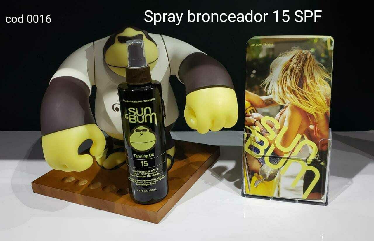 Spray Bronceador Sum Bum 15 SPF