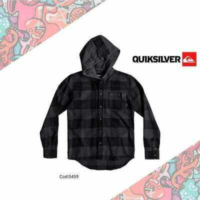 Motherfly Long Sleeve Hooded Shirt Quiksilver