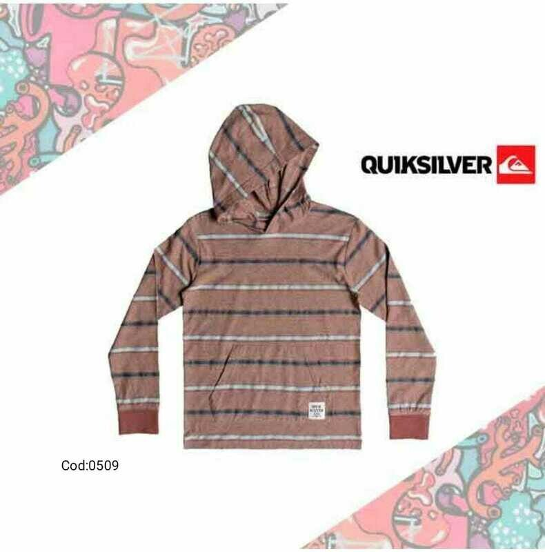 Ginza Hooded Long Sleeve Top Quiksilver