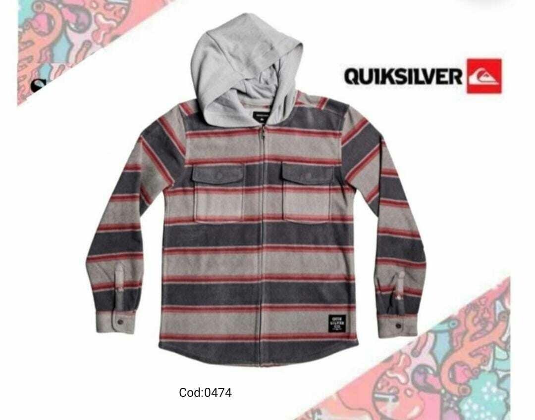 Jacket Quiksilver Franela