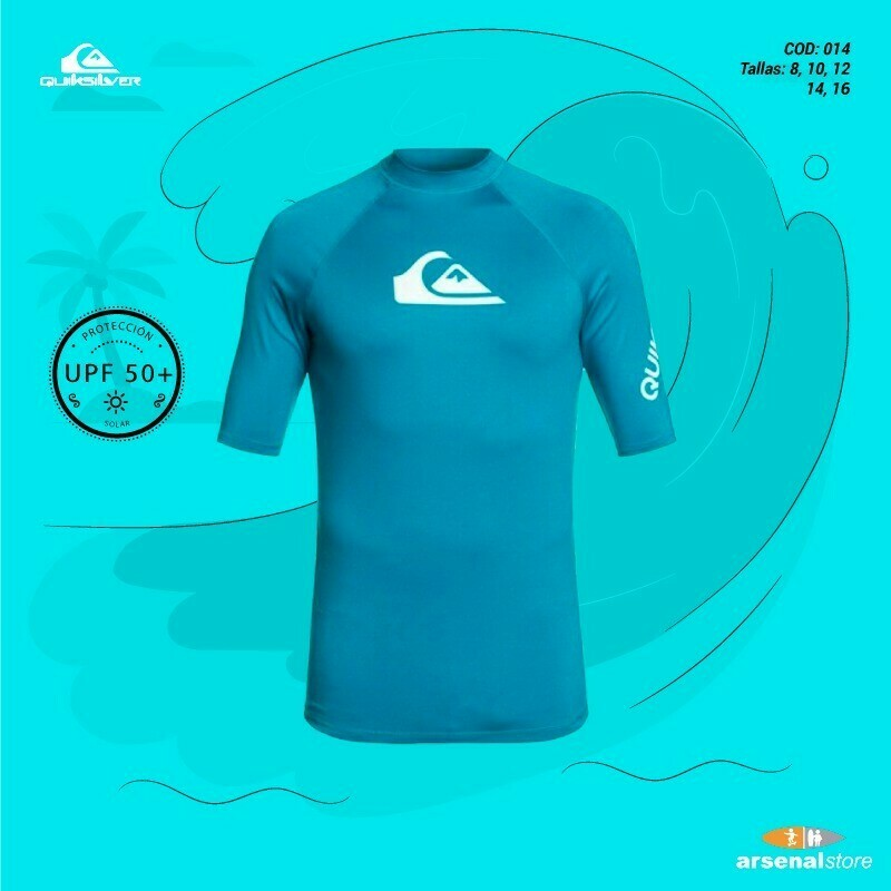Camiseta Surf 8-16