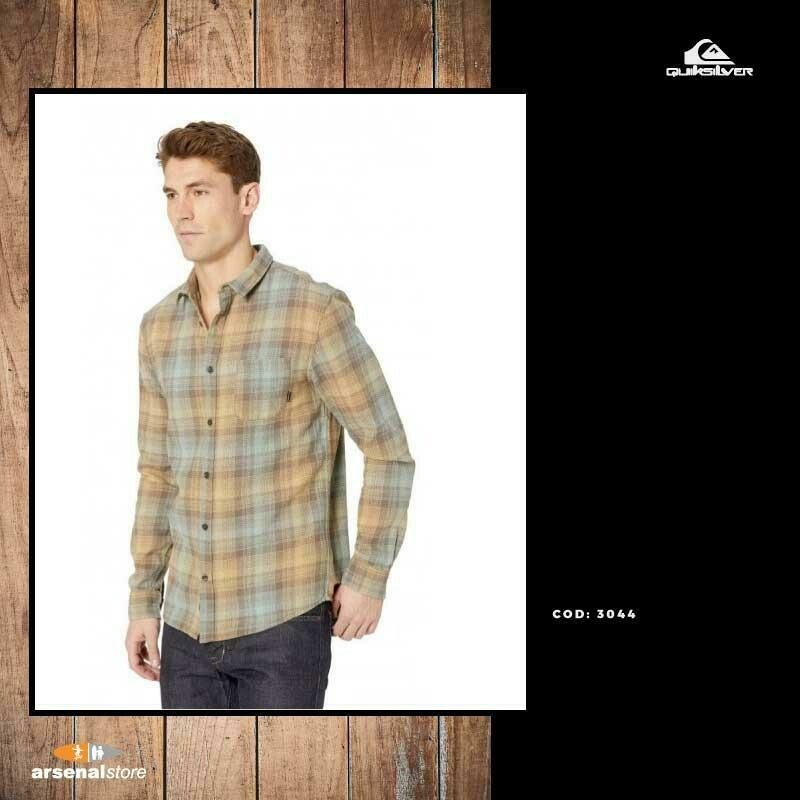 Fatherfly Long Sleeve Shirt Quiksilver 40%