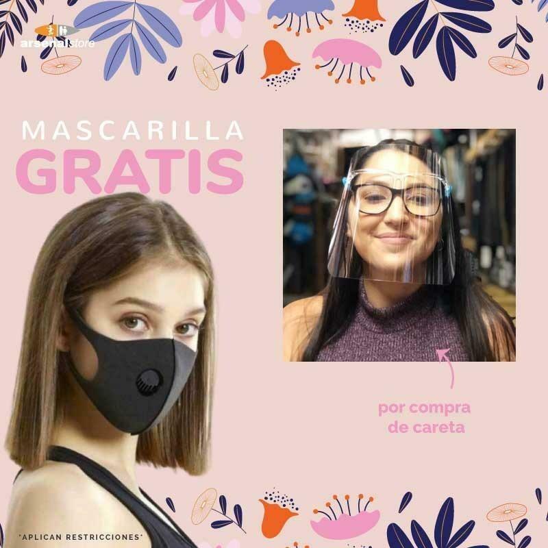 Careta + Mascarilla