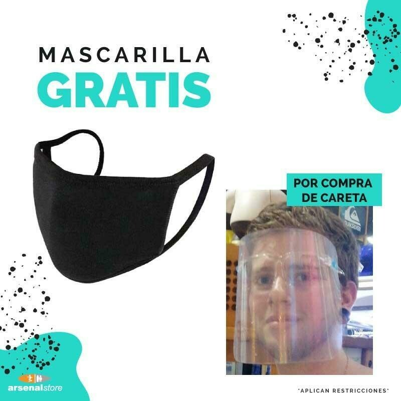 Careta + Mascarilla
