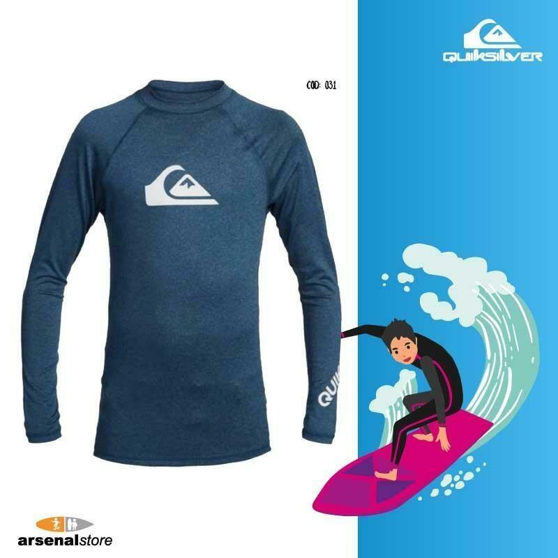 Camiseta Surf Niño 50 UPF