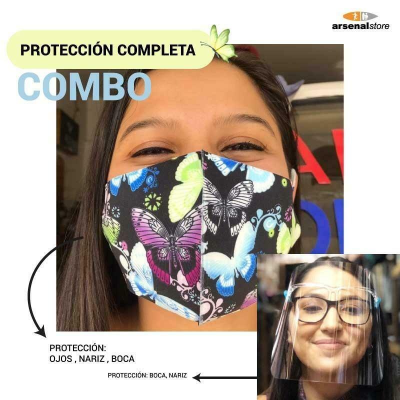 Mascarilla + Careta