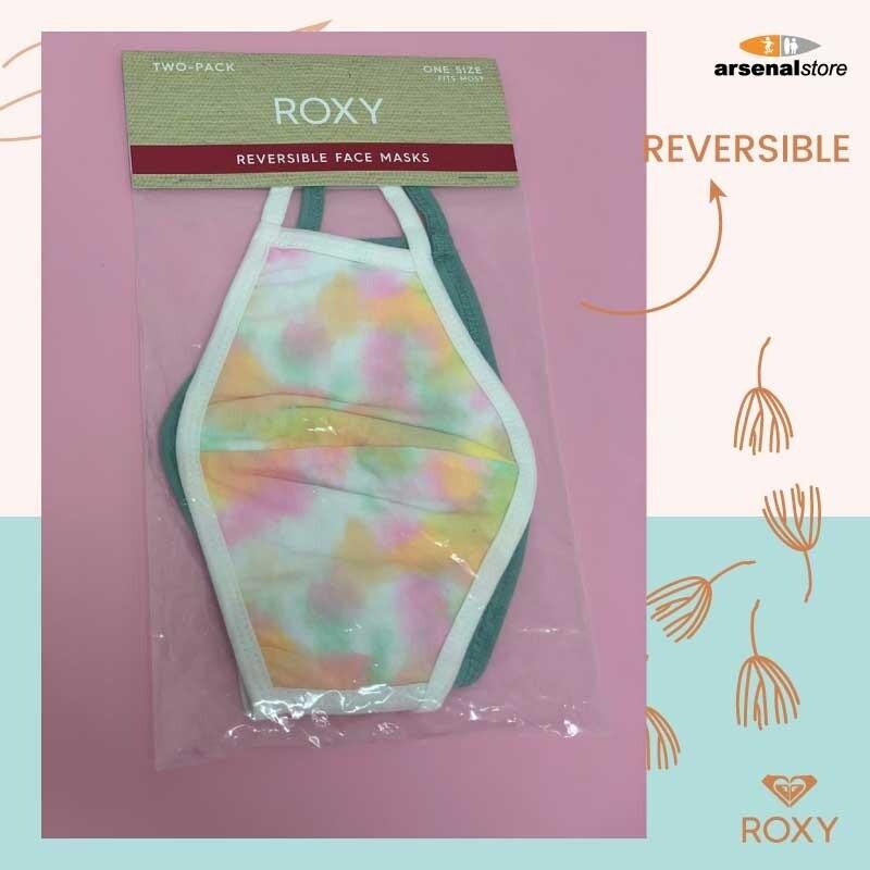 ROXY - Pack de 2 mascarillas faciales Reversible