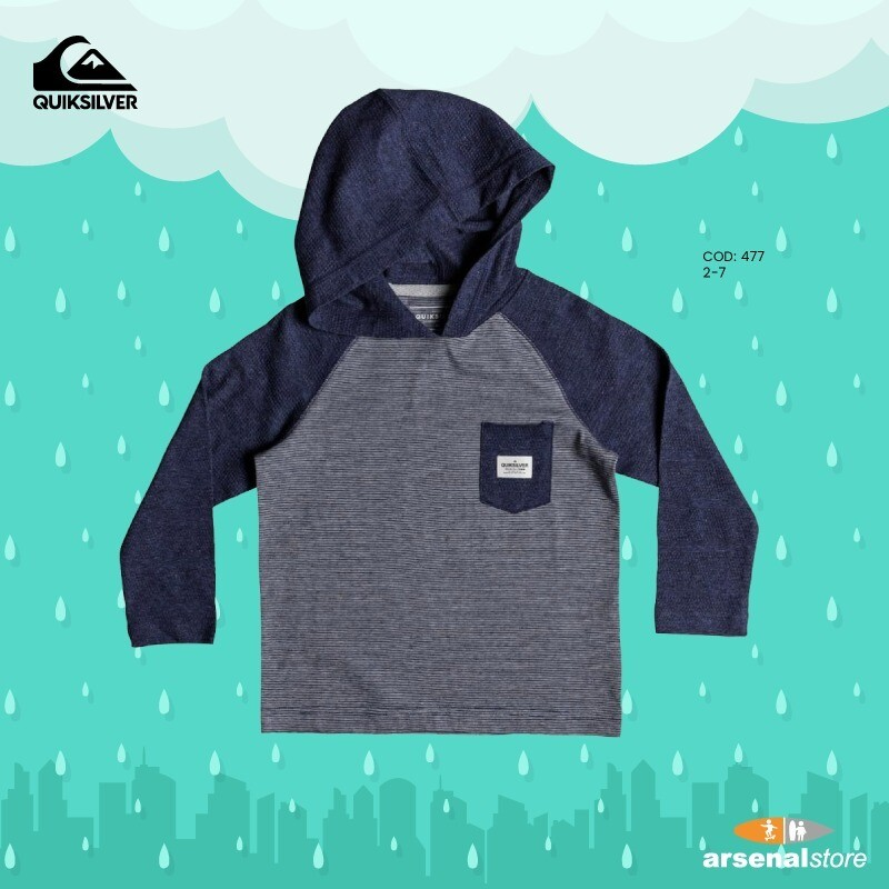 Michi Long Sleeve Hooded Top Quiksilver