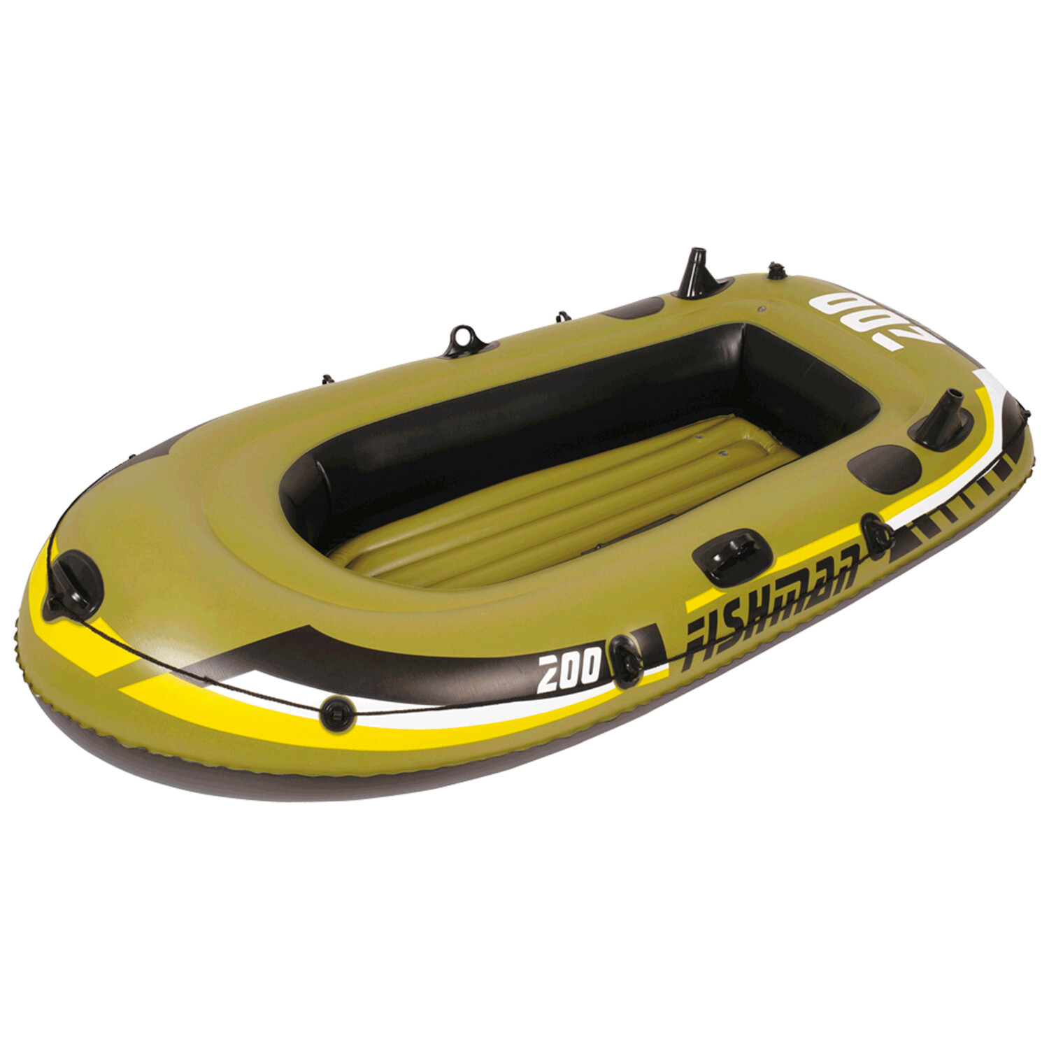 Bote Inflable Reforzado 1 Persona Ecology Fishman