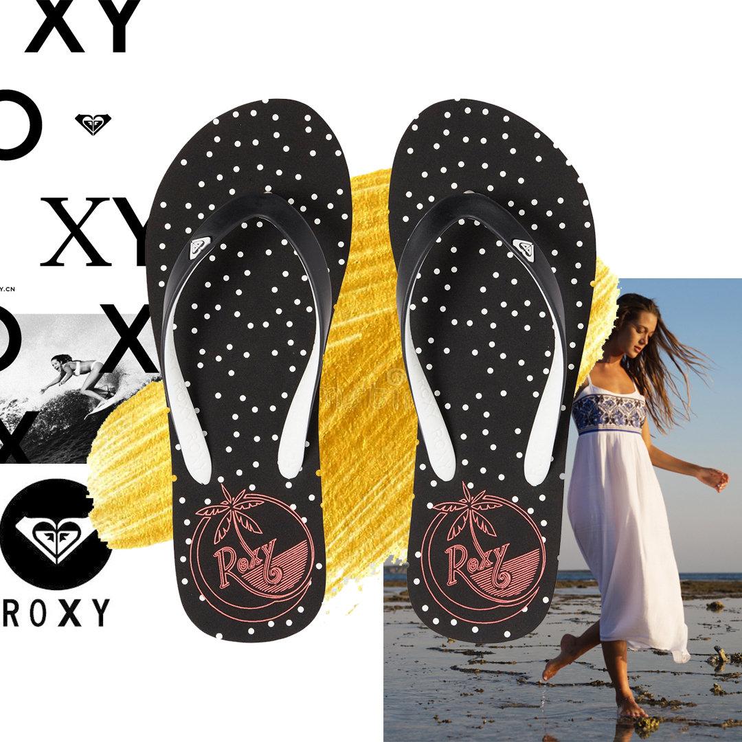 Tahiti Flip Flops Roxy