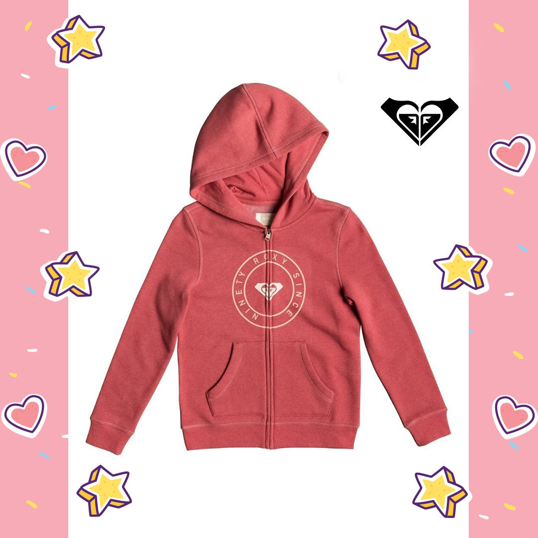 Plans Pirate Type Zip-Up Hoodie Roxy