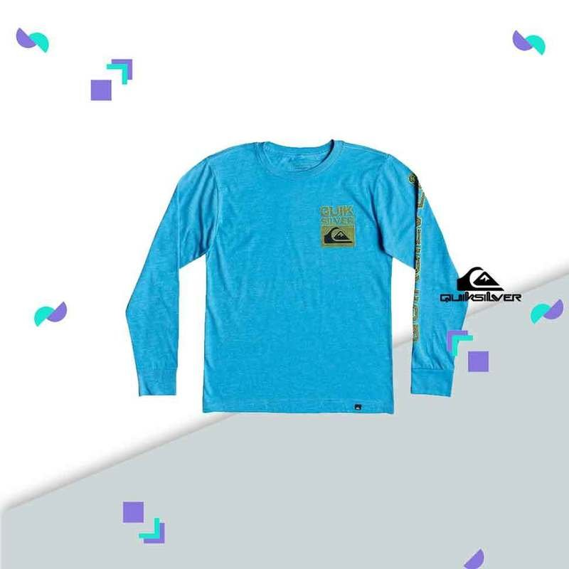 Pixel Screen Long Sleeve Tee Quiksilver