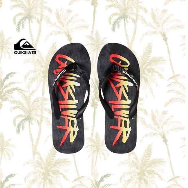 Molokai Wordmark Flip-Flops Quiksilver