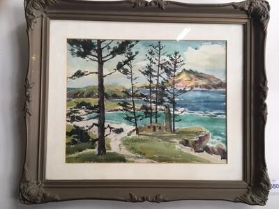 JC Stedman - framed painting