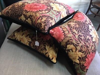 Original 70s Sanderson fabric scatter cushions