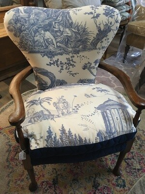 Pair of parlour chairs