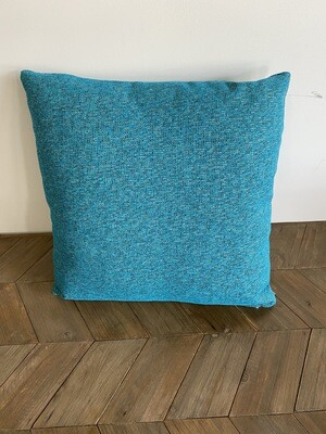 Electric blue scatter cushion