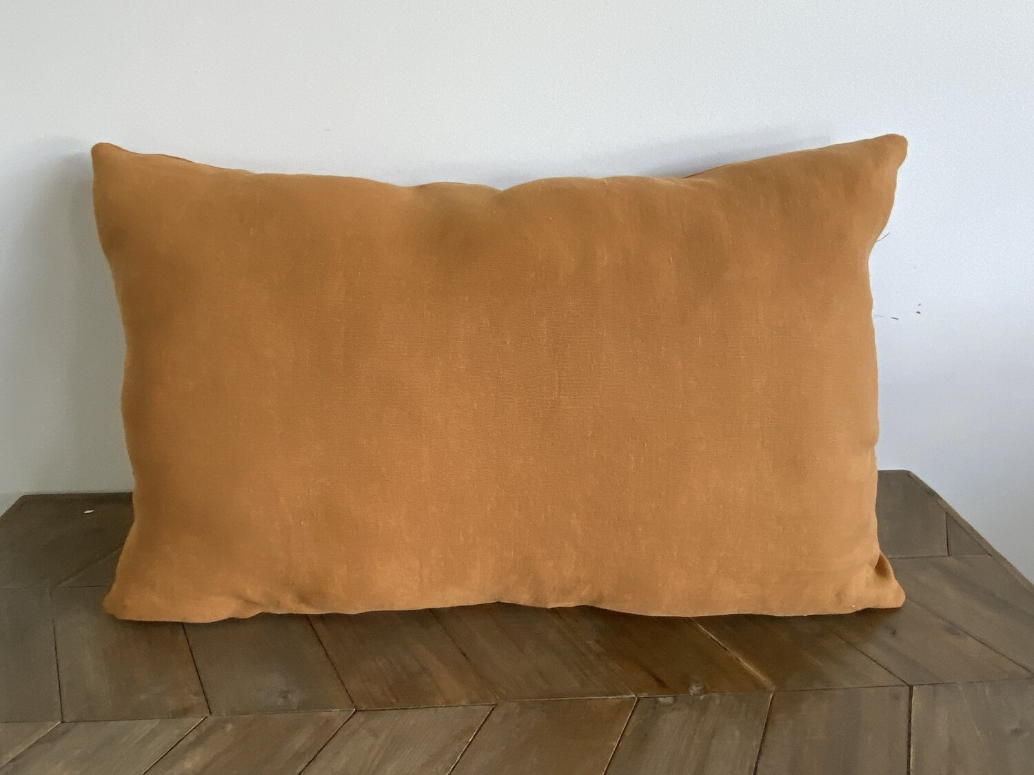 Rust coloured scatter cushion - large