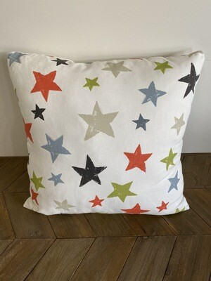 Star print scatter cushion
