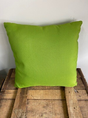 Lime outdoor scatter cushion