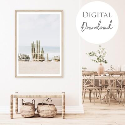 Coastal Cacti - Digital Download $15