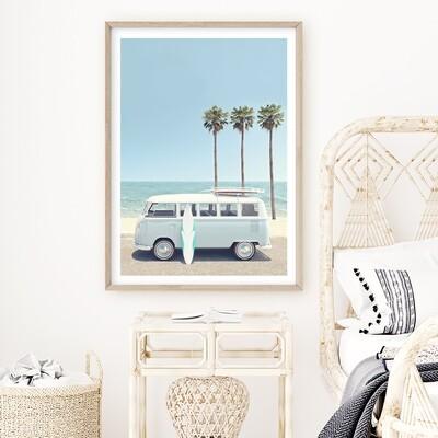 Beach Van (portrait)
