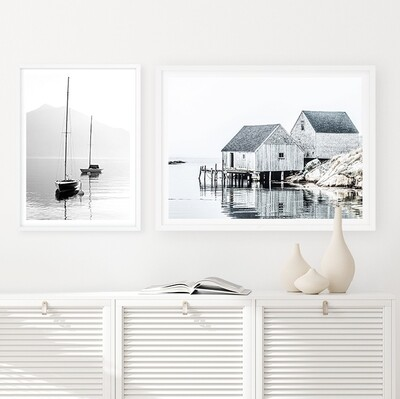 Harbour and Fishing Shack Set *SAVE*