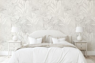 Luxe Palms Removable Wallpaper - Vintage