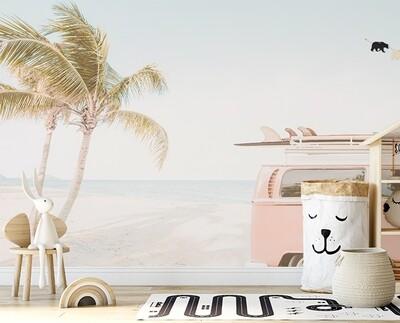 Beach Trip Removable Wallpaper Mural