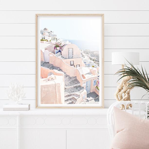 Peachy Santorini