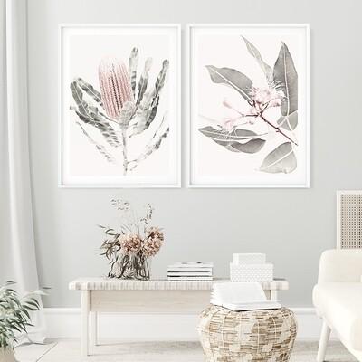 Soft Gum Blossoms & Soft Banksia Set *SAVE*