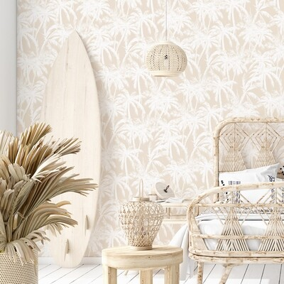 Tahitian Nude Removable Wallpaper