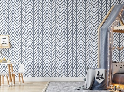 Feather Removable Wallpaper (any colour)