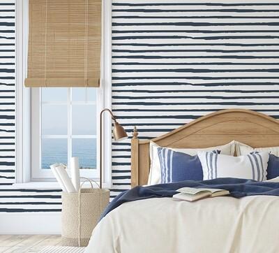 Sailing Stripes Removable Wallpaper
