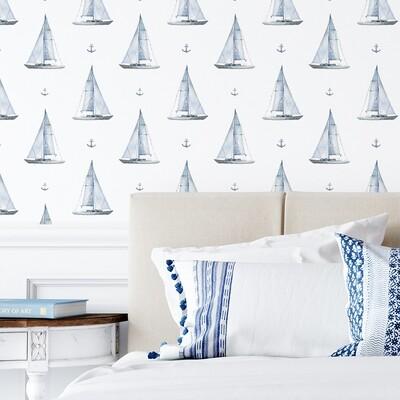 Sail Boats Removable Wallpaper