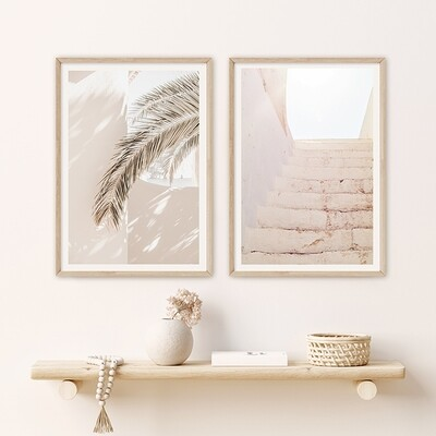 *SPECIAL* Soft Fronds & Peach Stairway