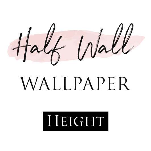 Half Wall - Removable Wallpaper
