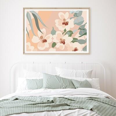 Honey Blossoms (Landscape)