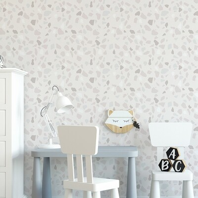 Pastel Terrazzo Removable Wallpaper