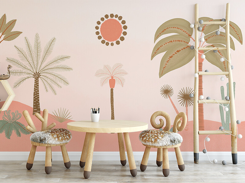 Palm Desert Removable Wallpaper Mural
