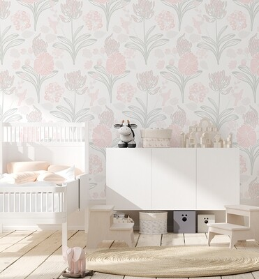 Pansy Removable Wallpaper