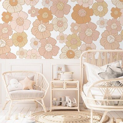Flower Child Removable Wallpaper