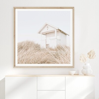 Beach Cottage (portrait or square)