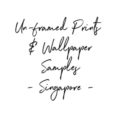 Wallpaper Samples & un-framed prints to Singapore