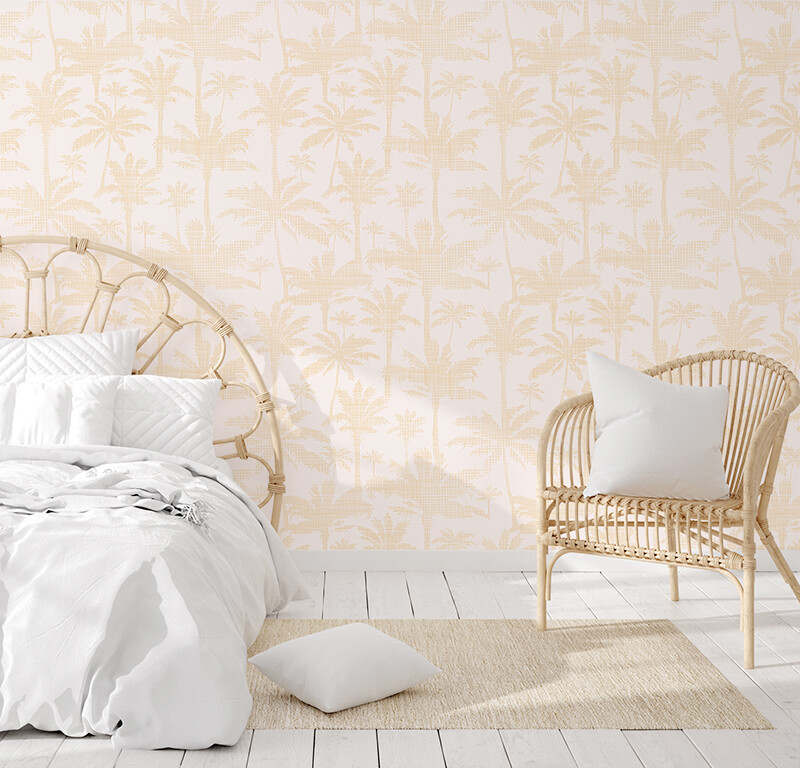 Palm Beach Removable Wallpaper