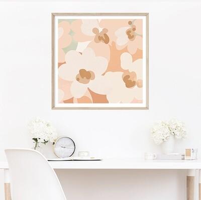 Honey Blossoms II (square)